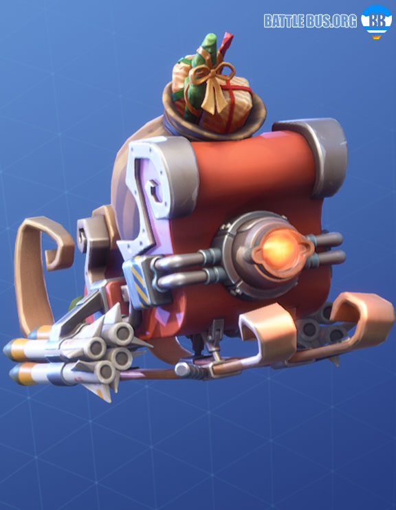 Tactical Sleigh Glider fortnite