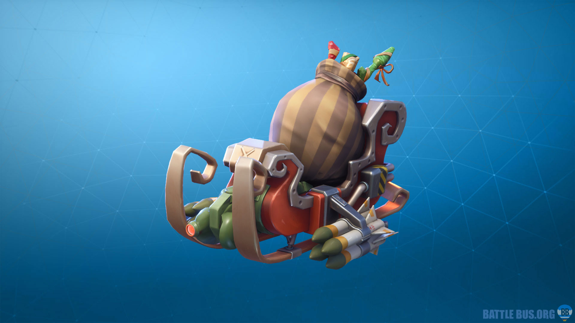 Tactical Sleigh fortnite Glider