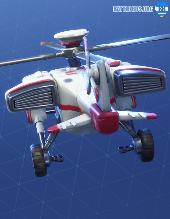 Airlift Glider Fortnite Support Squadron Set
