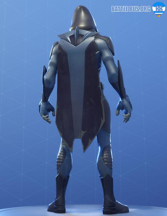 Battle Shroud Omen Back Bling Fortnite Overseer Set