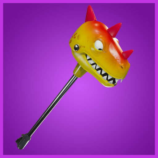 Fortnite Pickaxe Bitemark Dino Guard Set