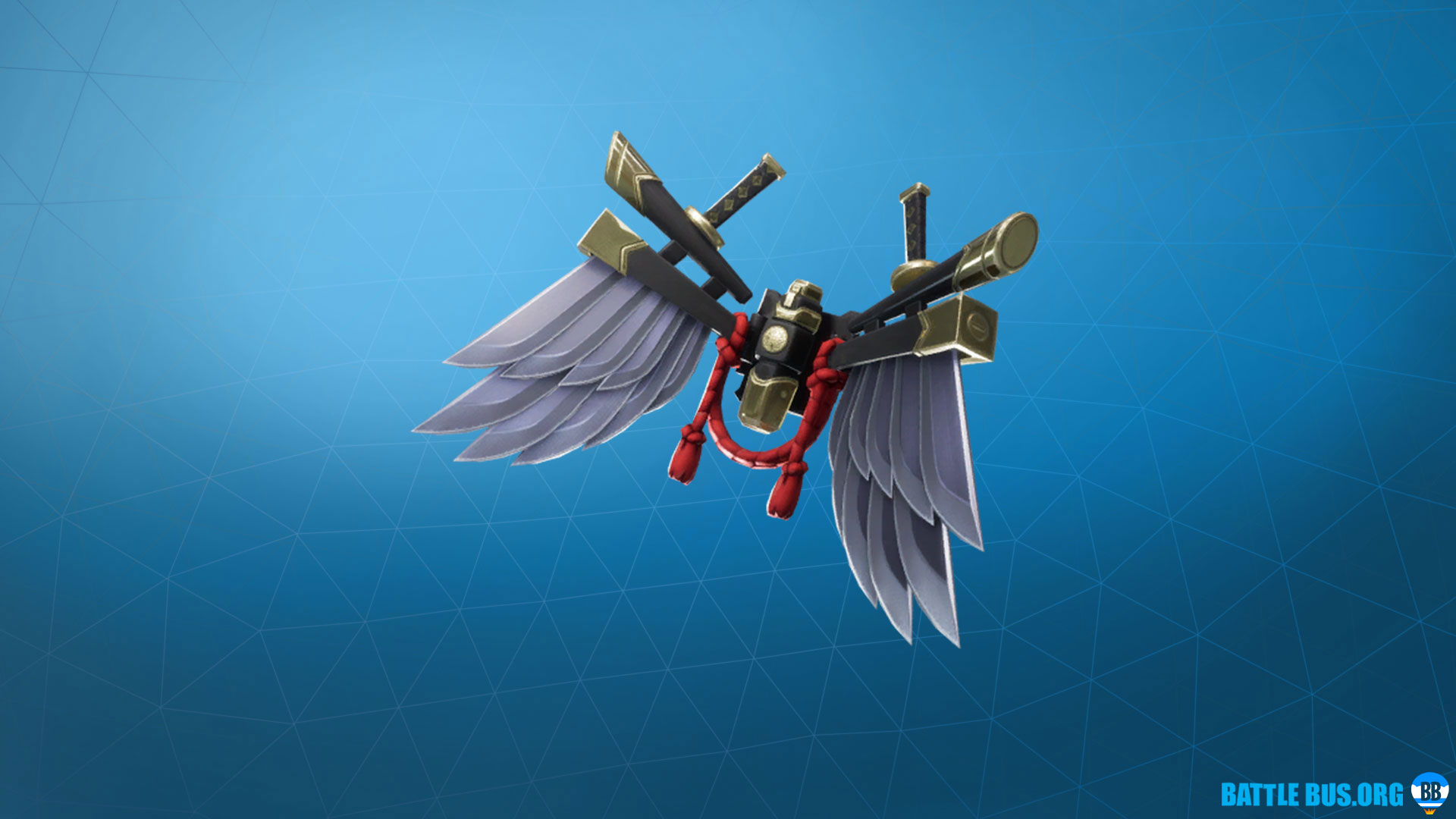 Bladed Wings Back Bling Fortnite Shogun