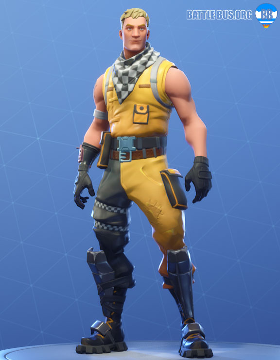 Cabbie Outfit Fortnite Racer Royale Set