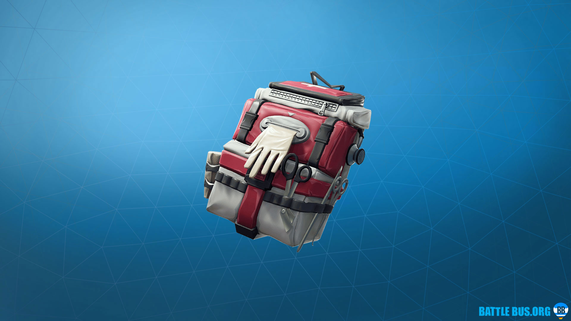 Care Package Fortnite Back Bling Support Squadron Set