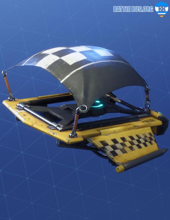 Checker Glider Fortnite Racer Royale Set