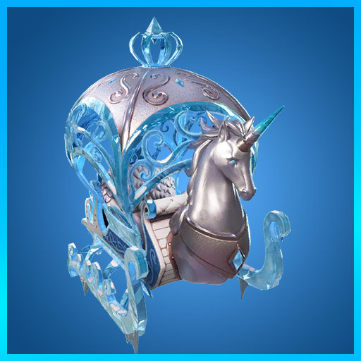 Crystal Carriage Glider Fortnite Glimmer