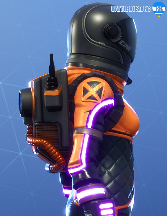 Dark Void Back Bling Dark Vanguard Fortnite