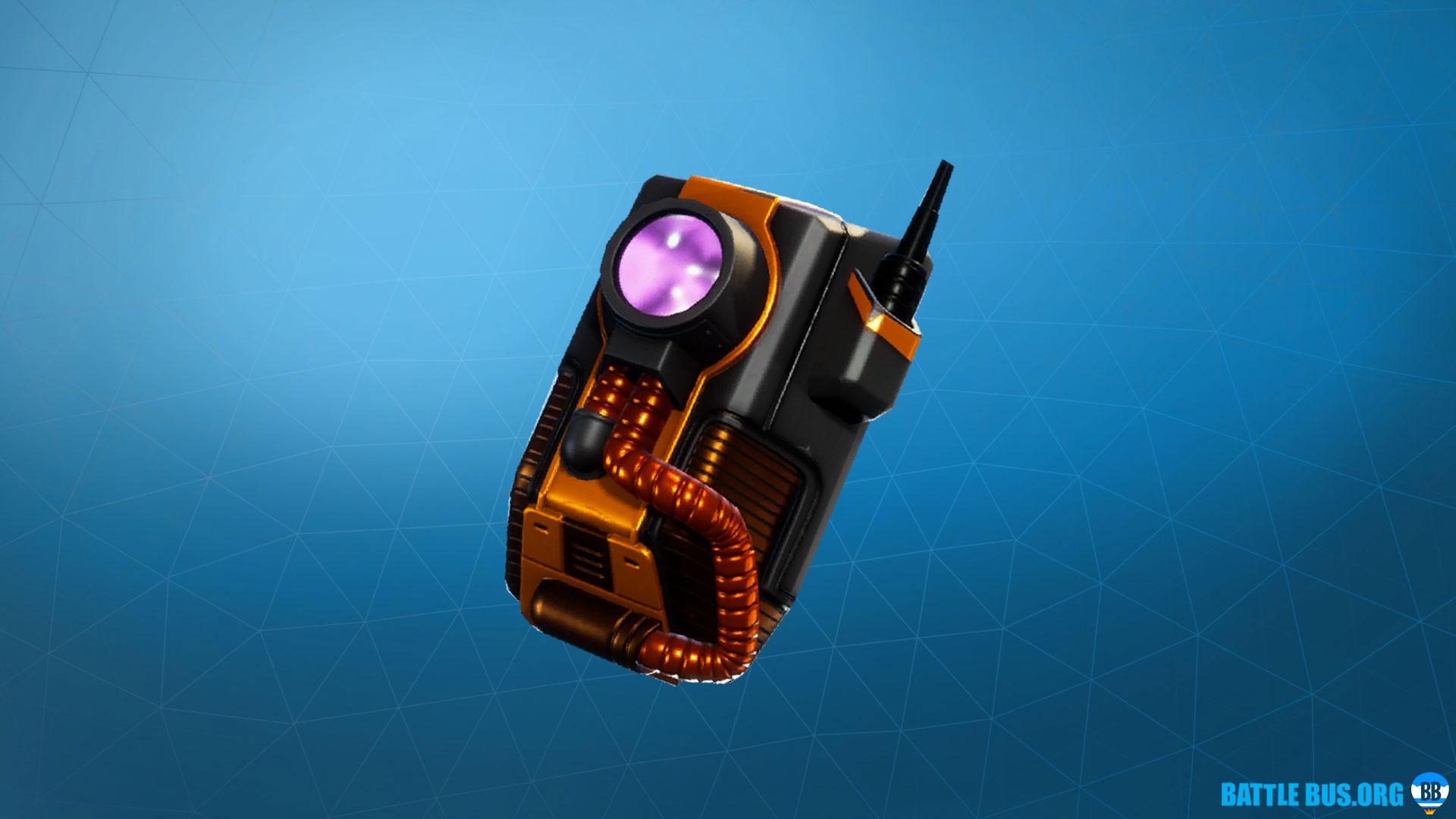 Dark Void Back Bling Dark Vanguard Fortnite