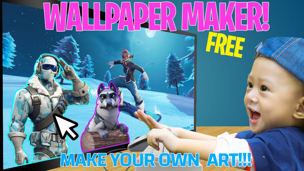 Fortnite wallpaper maker