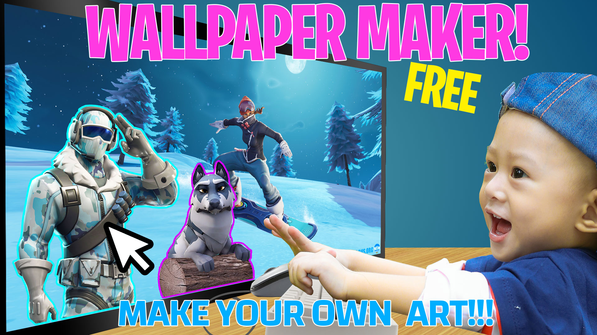 Design Your Own Fortnite Wallpapers Fortnite News Skins Settings Updates