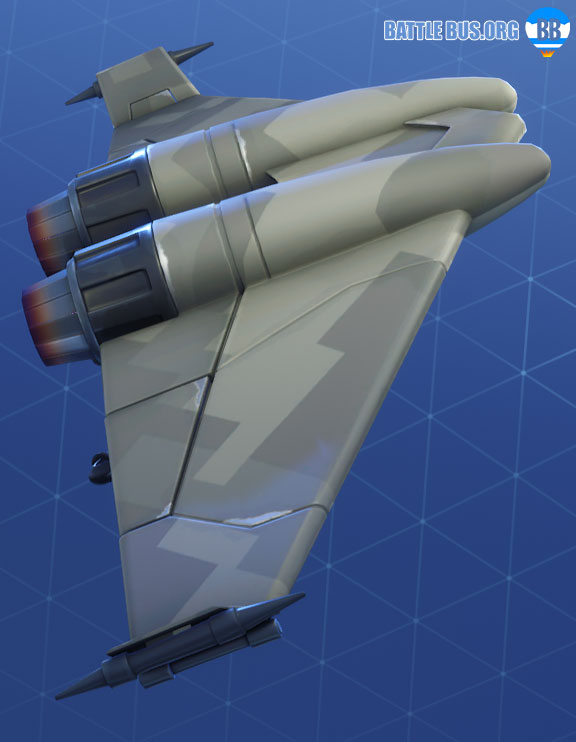 Diverge Glider Fortnite Modern Mercenary Set
