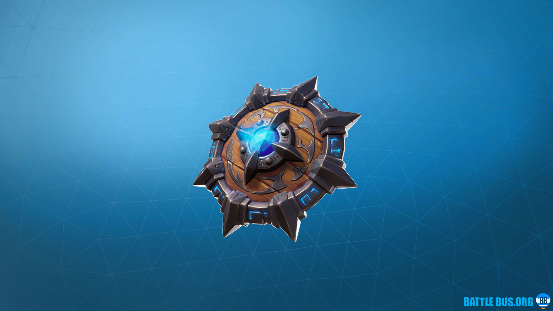 Emblazoned Buckler Fortnite Back Bling Primal Hunters Set