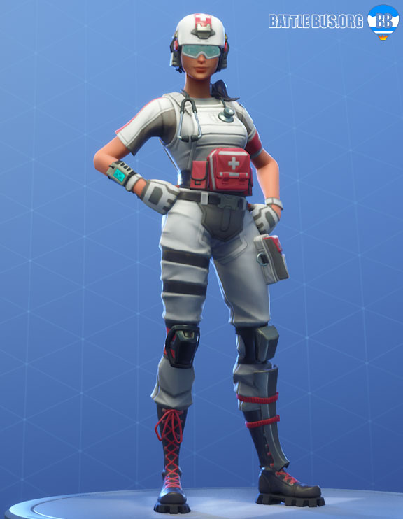 Field Surgeon Outfit Fortnite Support Squadron Set