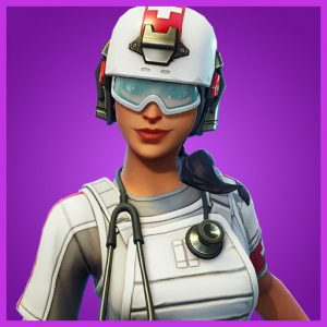 Fortnite Outfit Field Surgeon Support Squadron Set