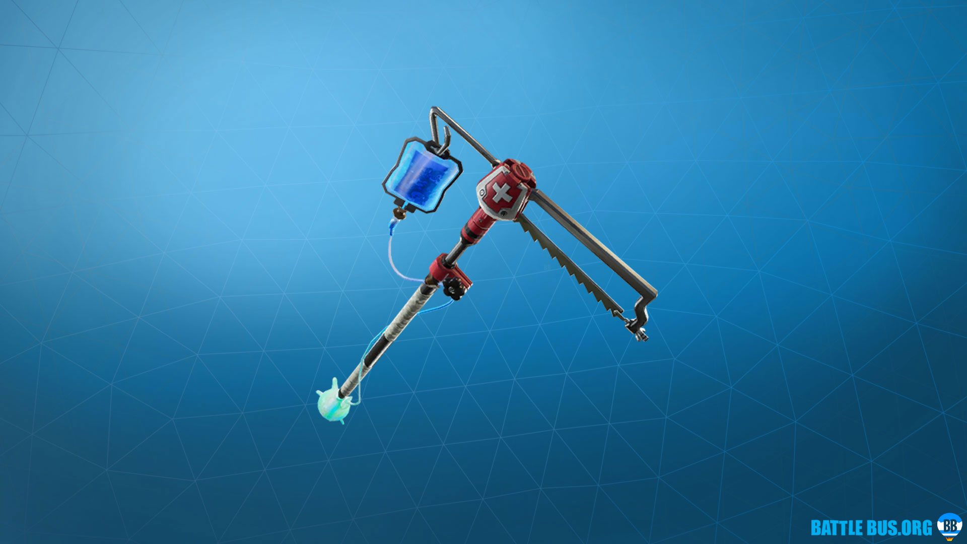Flatliner Pickaxe Fortnite Support Squadron Set
