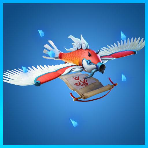 Flying Carp Fortnite Glider