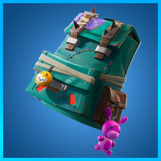 Fortnite Back Bling Puncture Pack Wasteland Warriors