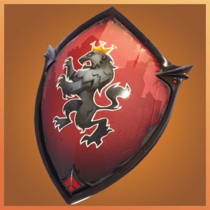 Fortnite Back Bling Red Shield