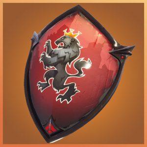 Fortnite Back Bling Red Shield