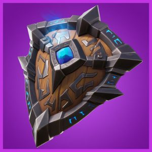 Fortnite Back Bling Runic Shield