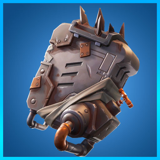 Fortnite Back Bling Spike Chamber Wasteland Warriors