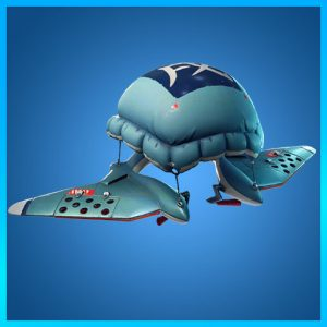 Poofy Parasail Glider Fortnite Animal Jackets Set