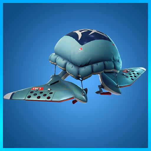 Poofy Parasail Glider Fortnite Animal Jackets Set