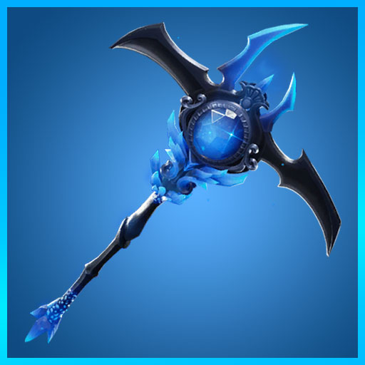 Fortnite Pickaxe Icebringer Ice Kingdom Set