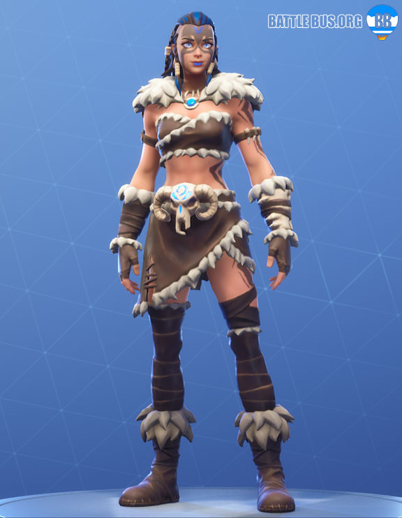 Fyra Fortnite Outfit Primal Hunters Set