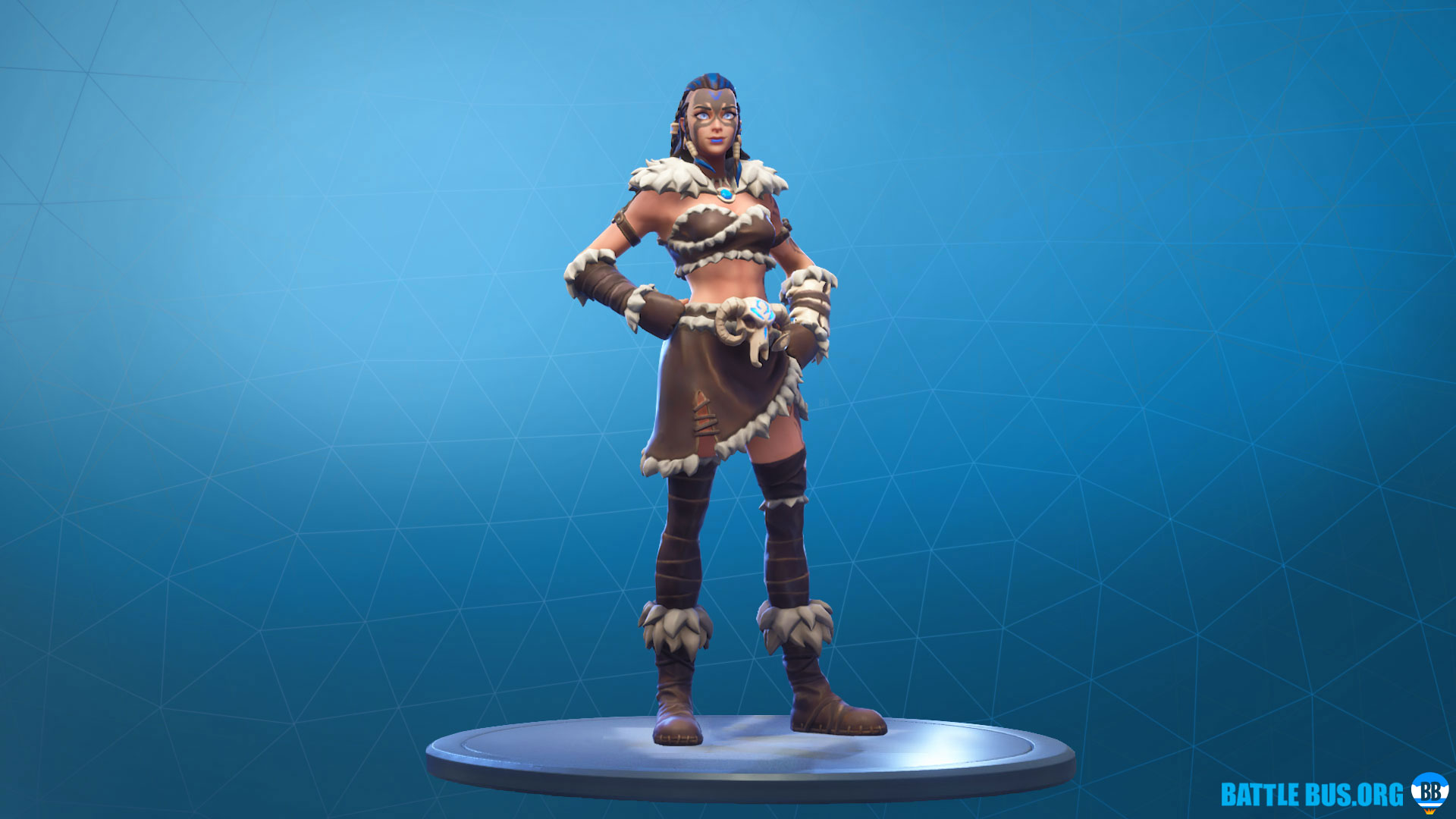 Fyra Skin Fortnite Outfit Primal Hunters Set
