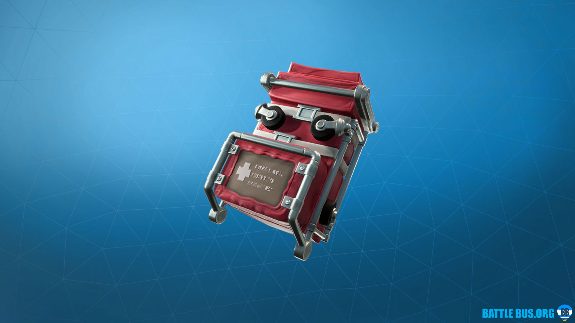 Gurney Gear Back Bling Fortnite Support Squadron Set