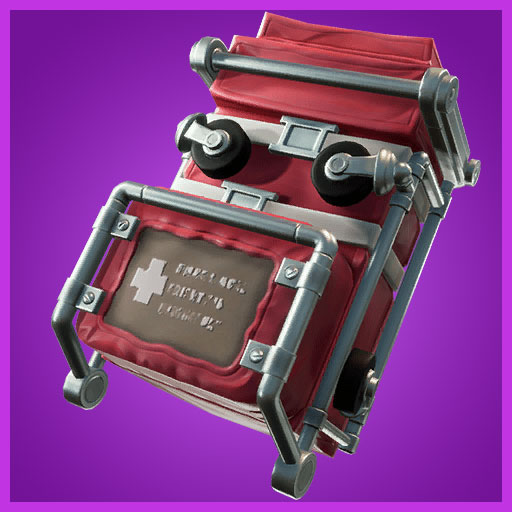 Fortnite Back Bling Gurney Gear Support Squadron Set