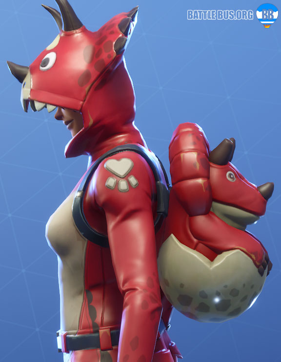 Hatchling Fortnite Back Bling Dino Guard Set