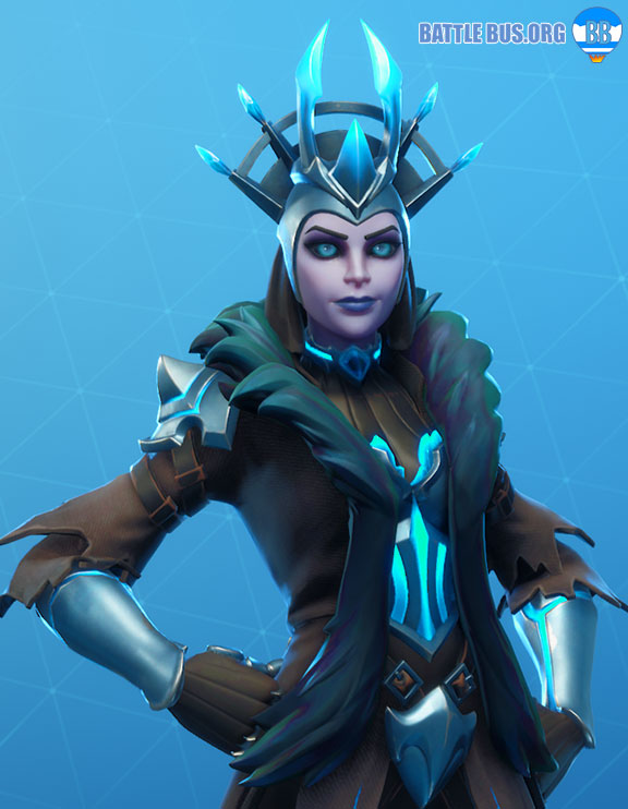 Ice Queen Fortnite Outfit Ice Kingdom Set