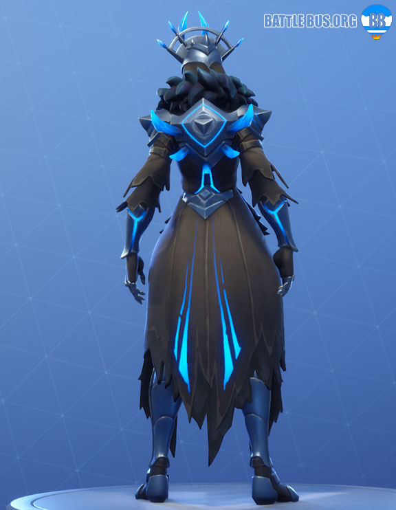 Ice Spikes Back Bling Fortnite Ice Queen