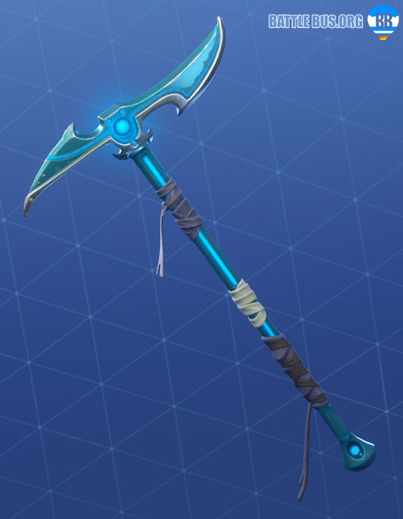 Inverted Blade Fortnite Pickaxe Snowfoot