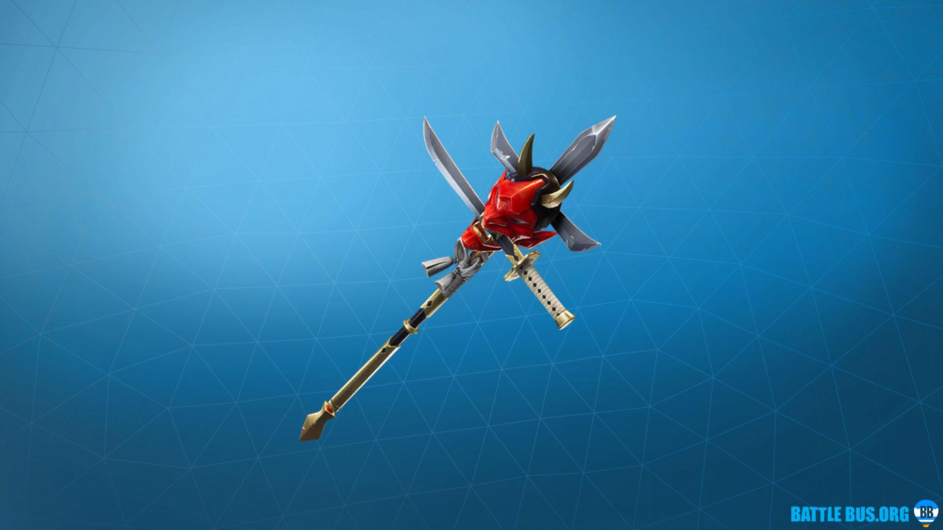 Jawblade Pickaxe Fortnite Shogun
