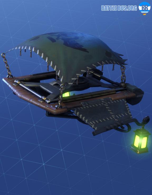Lamplight Fortnite Glider Grim Medicine Set