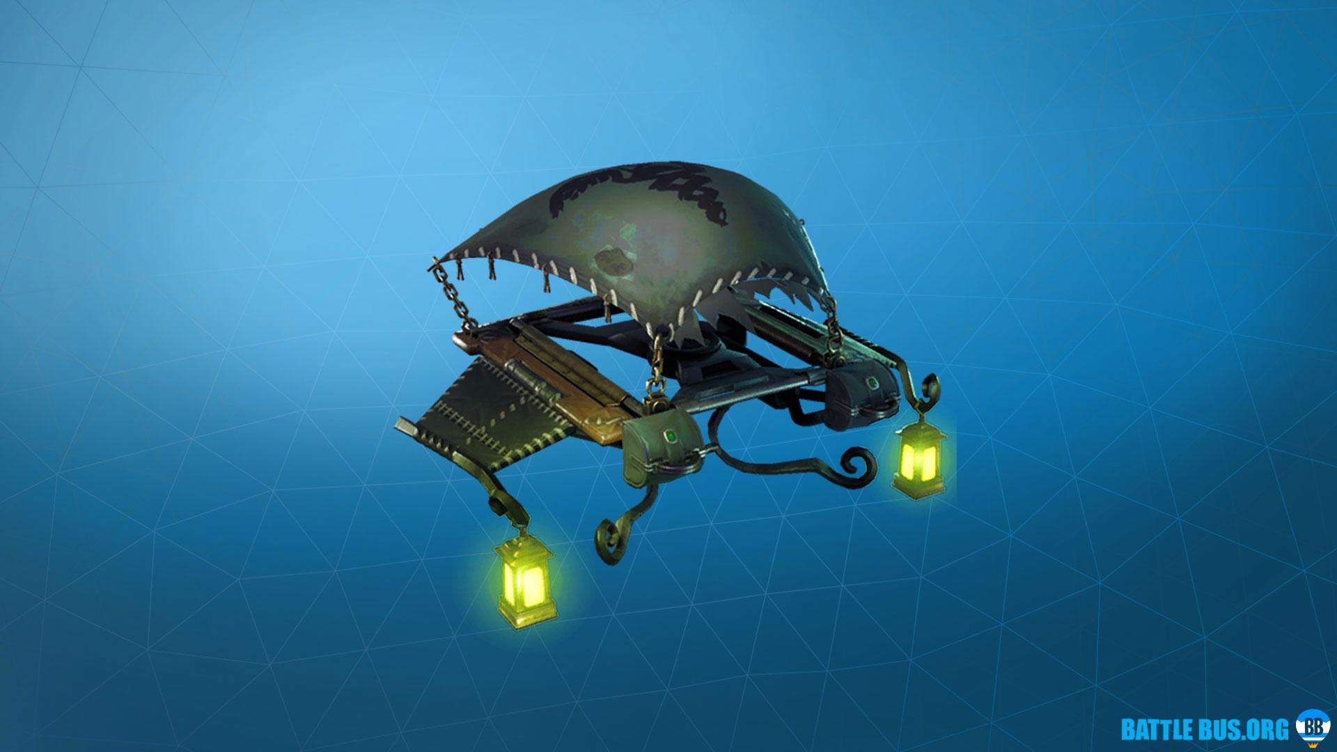 Lamplight Glider Fortnite Grim Medicine Set