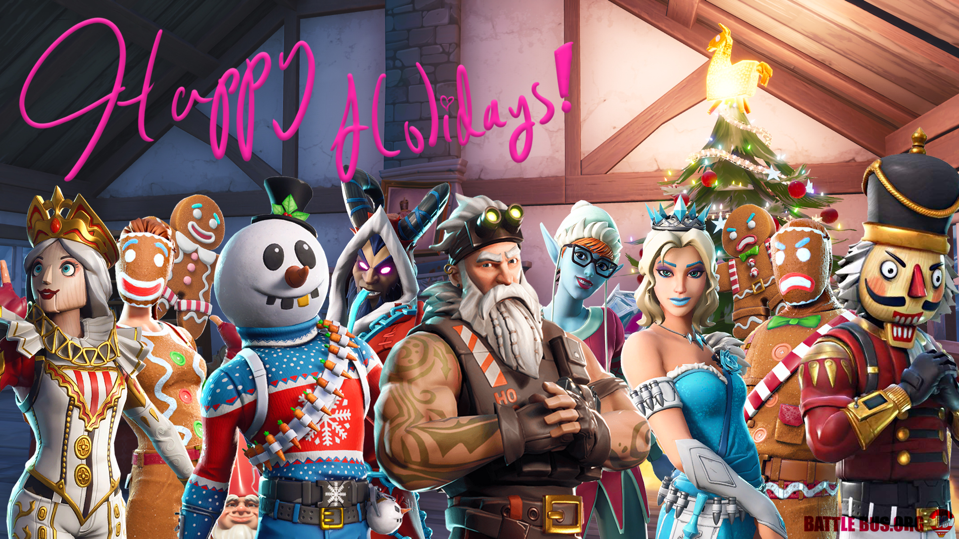 Christmas Skins.Every Fortnite Christmas Skin Did You Get Them All
