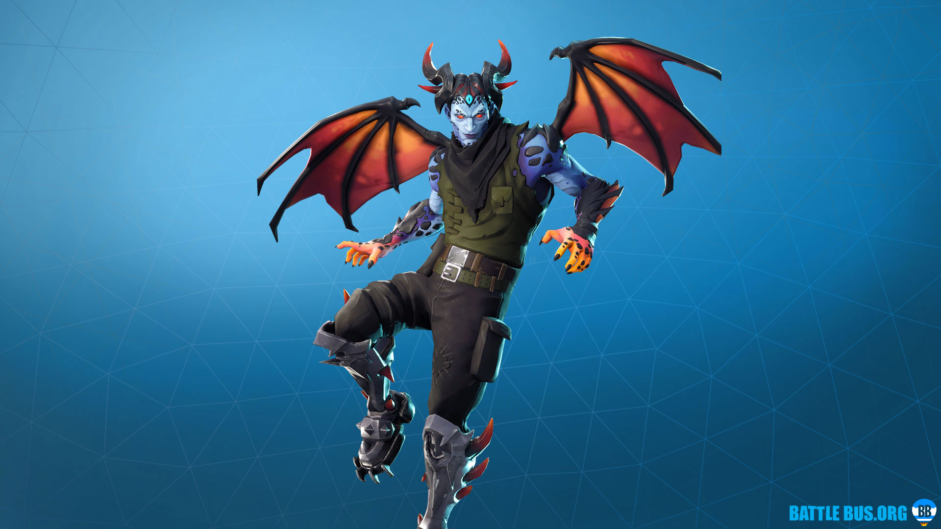 Malcore Outfit Fortnite Eternal Struggle Set
