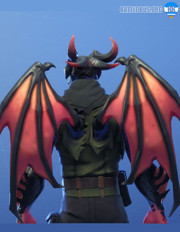 Malcore Wings Back Bling Eternal Struggle Set