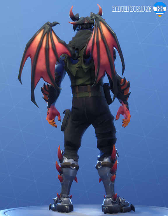 Malcore Wings Back Bling Fortnite Eternal Struggle Set