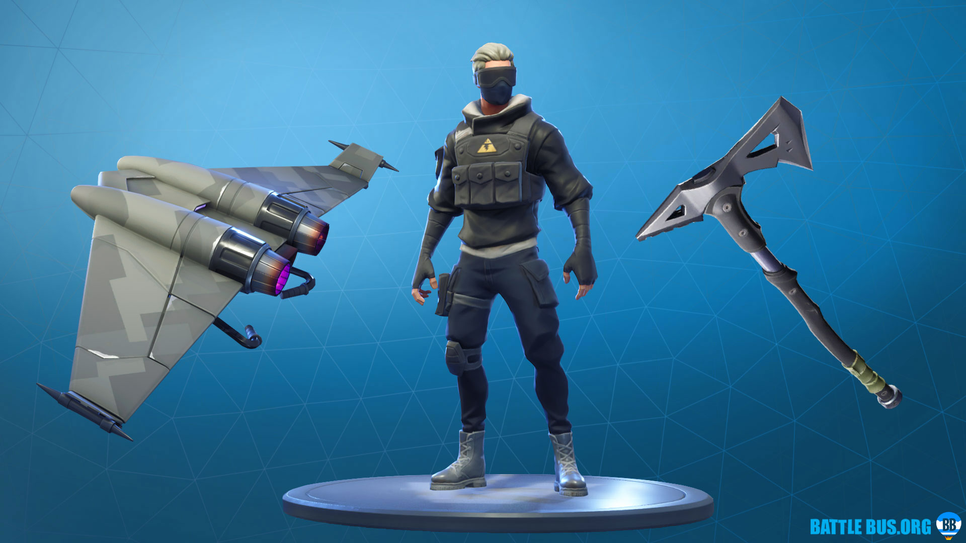 Modern Mercenary Set Fortnite Verge