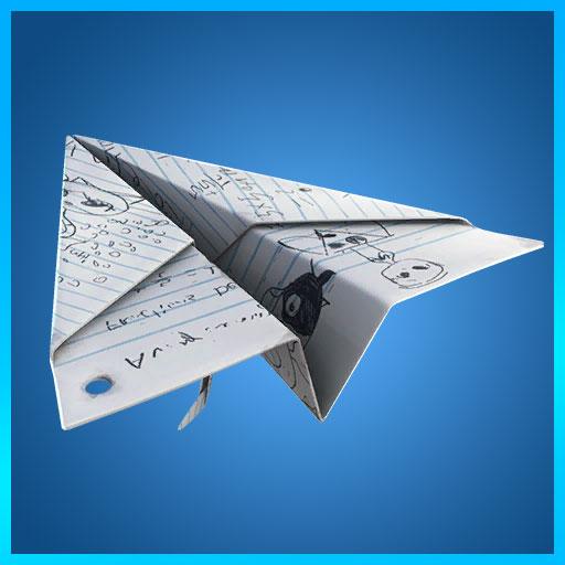 Paper Plane Glider Fortnite