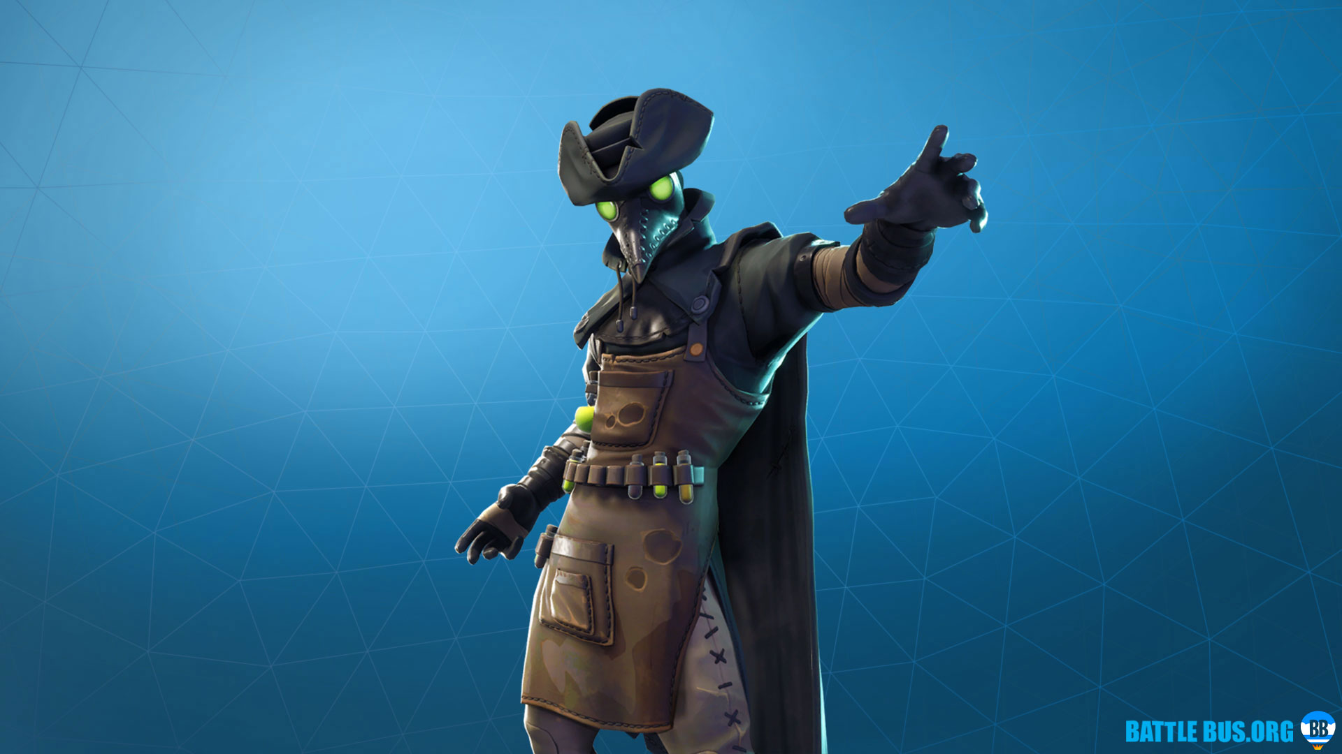 Plague Fortnite Outfit Grim Medicine Set