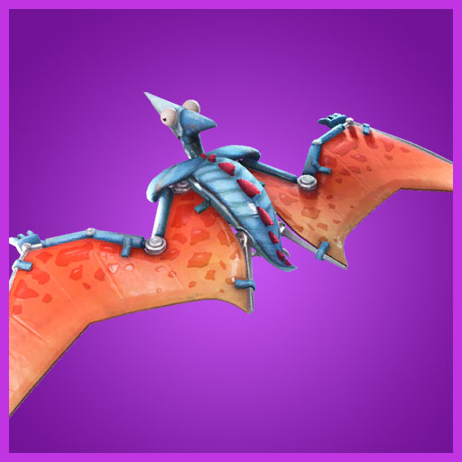 Fortnite Glider Pterodactyl Dino Guard Set