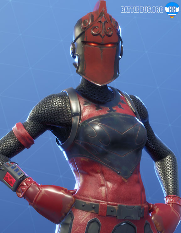 Red Knight Outfit Fort Knights Set