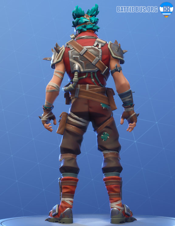 Ruckus Outfit Fortnite Wasteland Warriors Set