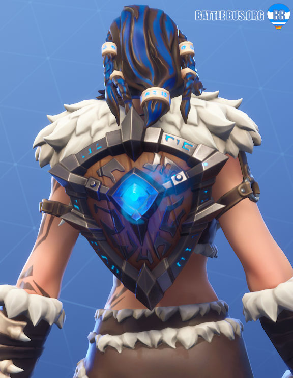 Runic Shield Fortnite Back Bling Primal Hunters Set